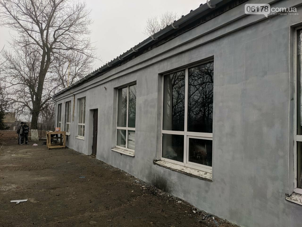 Завершена реконструкция фасадной группы Дома Культуры в поселке Роза, фото-9